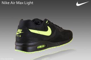 Nike Air Max Light Schuhe Neu Gr.44 light Sneaker Textil schwarz