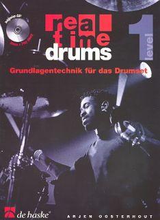 Real Time Drums, Grundlagen mit CD