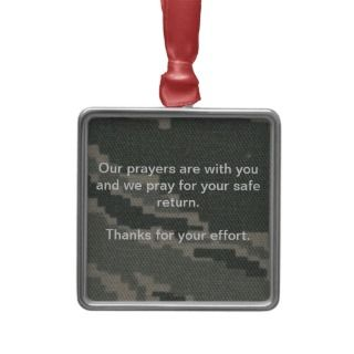 Air Force Support Our Troops Christmas Ornament