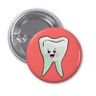 Funny Dentist Dental Health Pin