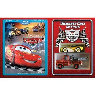 Disney Cars Gift Set Combo Pack with DVD Blu ray region 1