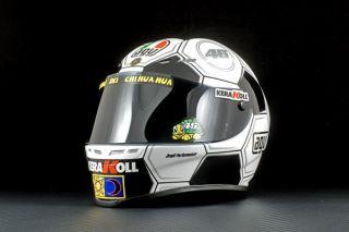 Minichamps Replica Mini Helmet Valentino Rossi MotoGP 2008 Barcelona 1