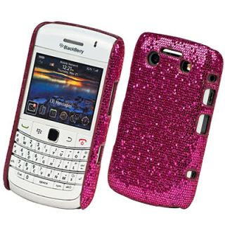 PINK SPARKLE BLING CASE COVER FOR BLACKBERRY BOLD 9780
