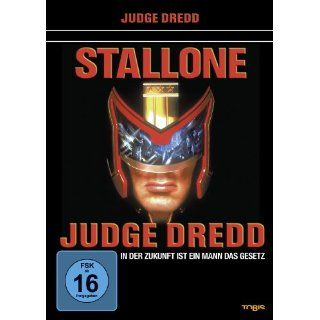 Judge Dredd Sylvester Stallone, Armand Assante, Diane Lane