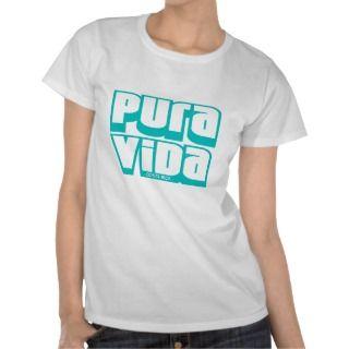 Pura Vida, Costa Rica Tee Shirts