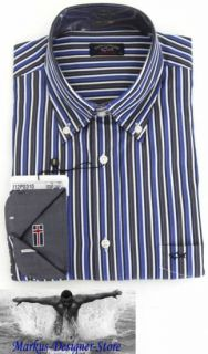 Paul & Shark YACHTING Hemd Shirt Neu New Größe 42 L Royal Yacht Club