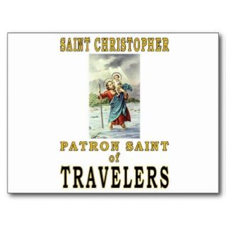 SAINT CHRISTOPHER POST CARD