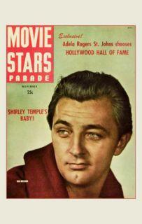 Robert Mitchum   Movie Stars Parade Magazine Cover 1940s Masterprint