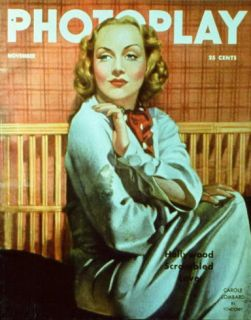 Carole Lombard   Photoplay Magazine Cover 1930s Masterprint