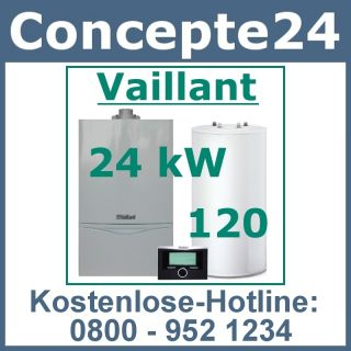Vaillant turboTEC plus VC 245 24 kW Gas Heizung Gastherme Heiztherme