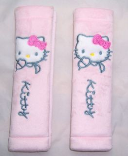 Hello Kitty Auto Gurtpolster Gurtschoner Paar Rosa 2PC