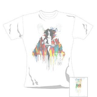 Girl Shirt   Lil Wing [Size L]   weiß Musik