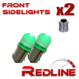 BMW 3er 233 T4W LED Wide Angle Green Side Lights Budget Upgrade Bulbs