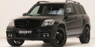 Brabus Frontspoiler für Mercedes GLK X204 ohne AMG Sportpaket bis 06