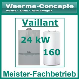 Vaillant atmoTEC exclusiv VC 254/4 7 24 Gas Therme Heizung +Speicher