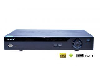 Videoüberwachung 4 Kanal Full HD DVR Rekorder H.264 1080p HDMI