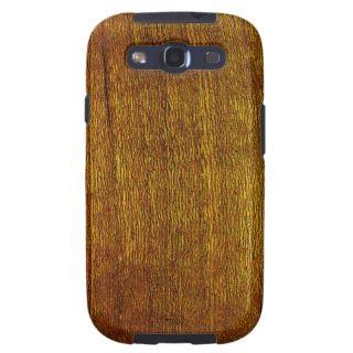 Cherry Wood Grain Samsung Galaxy S3 Case