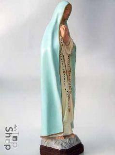 HEILIGE N.S FATIMA MADONNA | Statue Masse Figur Skulptur |261