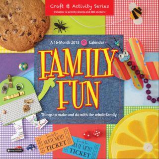Family Fun   2013 Wall Calendar Calendars
