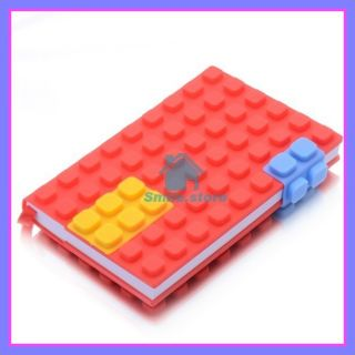 Lego notebook note book writing pad building block for birthday