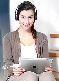 Tivizen Radio DAB+ für Apple iPod/iPhone/iPad Heimkino