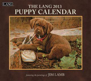 Puppy   2013 Wall Calendar Calendars