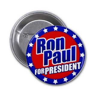 Ron Paul for President Button