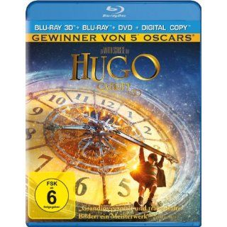 Hugo Cabret + Blu ray + DVD + Digital Copy 3D Blu ray: Ben