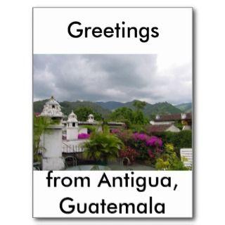 Antigua, Guatemala Postcards