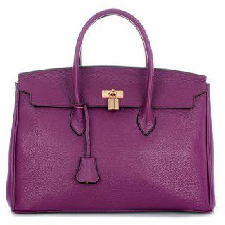 ROUVEN Purple & Gold GRACE 40 Bag Handtasche UVP*699€