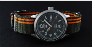 SEIKO 5 Sport SRP275K1 Military Uhr Automatic Herren gents watch