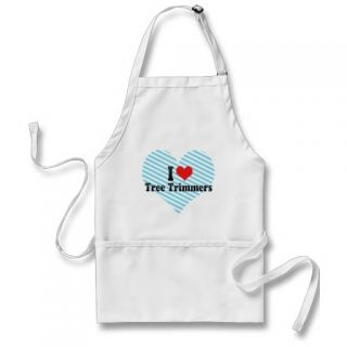 Love Tree Trimmers Apron
