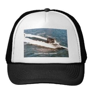 USS ETHAN ALLEN (SSBN 608) MESH HATS