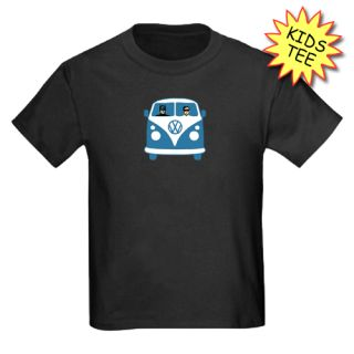 VW Kombi Van Batman and Robin Boys T Shirt Ages 2 14