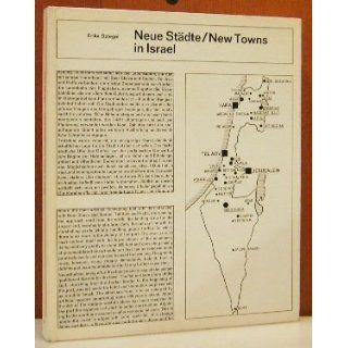 Neue Städte in Israel Erika Spiegel Bücher