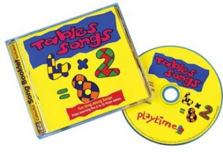 Times Tables Songs CD Kids Child Teach Math Learning Education CD NEW