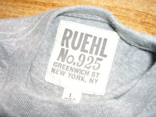 Ruehl No.925 *Edel* T Shirt by Abercrombie and Fitch L