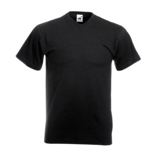 Neck T Shirt Shirt Fruit of the Loom S M L XL XXL Neu