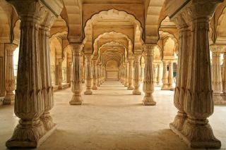 Jaipur Indien Stein Saeulen Nr 272 Groesse 420x270cm Foto Tapete NEU