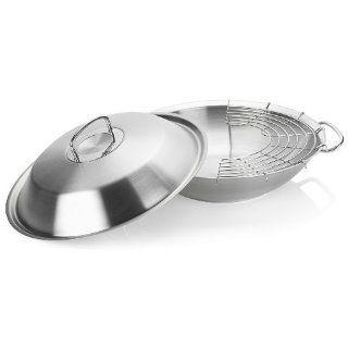 fissler 8482335000 original profi collection wok mit metalldeckel 35. Black Bedroom Furniture Sets. Home Design Ideas