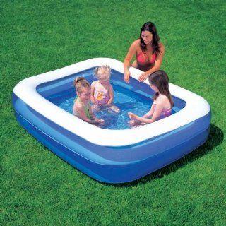 ... Pool Kinder Planschbecken 201 X 150 X 51 Cm Garten ...