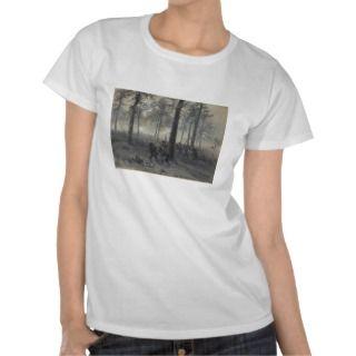 American Civil War Battle of Chickamauga by Waud T shirt