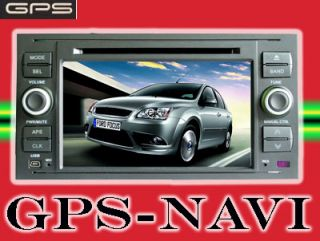 GPS NAVIGATION DVD FORD FOCUS FUSION NAVI BLUETOOTH MD293SB