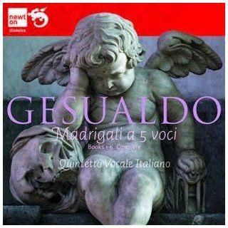 Don Carlo Gesualdo Madrigale Libro V (1611) Musik