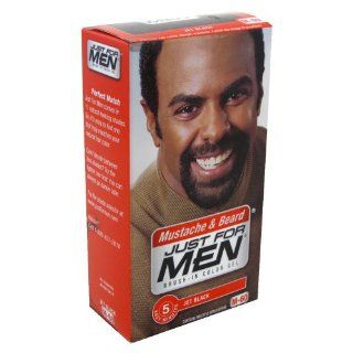 Just For Men Brush In Color Gel Mustache & Beard Jet Black # M 60 1