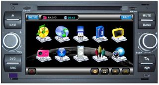 FORD FUSION TRANSIT FOCUS FIESTA S C MAX Autoradio Navigation GPS DVD