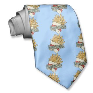 Frytastic ~ French Fries Fantastic Junk Foods Tie