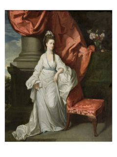 Lady Grant, Wife of Sir James Grant, Bt., 1770 80 (Oil on Canvas) Giclee Print by Johann Zoffany