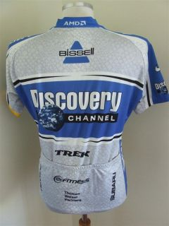 Original RAD Trikot Discovery Channel (L) Cycling Jersey Maillot