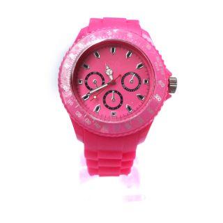 Jelly Sports Watch Men Women Unisex Silicone Calendar WristWatch